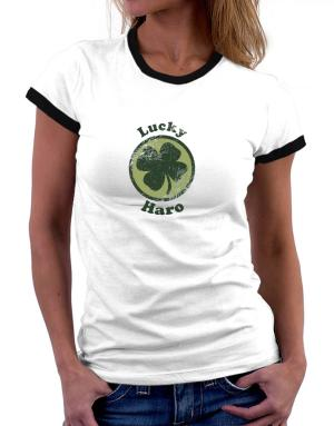 Lucky Haro Women Ringer T-Shirt