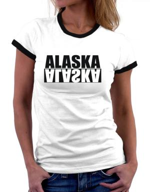 Alaska Negative Women Ringer T-Shirt