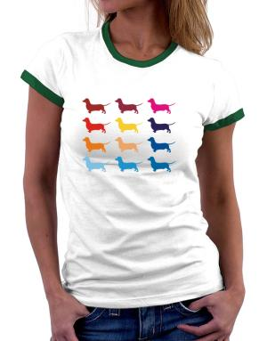 Polo Ringer de Colorful Dachshund