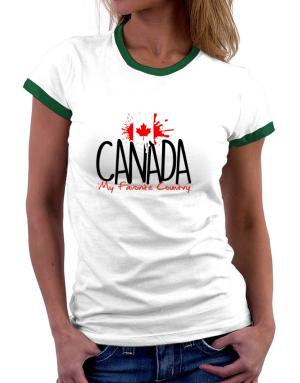 Polo Ringer de Canada my favorite country