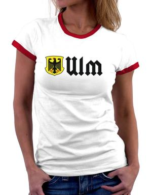 Ulm Germany Women Ringer T-Shirt