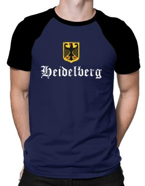 Heidelberg Germany Raglan T-Shirt