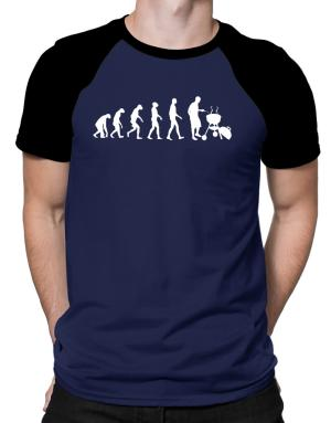 BBQ Evolution Raglan T-Shirt