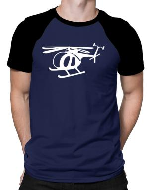 Mini Helicopter Raglan T-Shirt