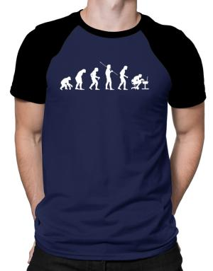 Polo Raglan de Evolution of gamer