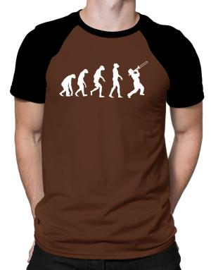 Trombone Evolution Raglan T-Shirt