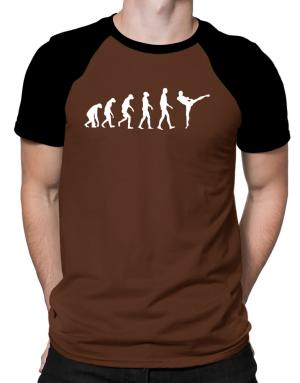 Muay Thai Evolution Raglan T-Shirt