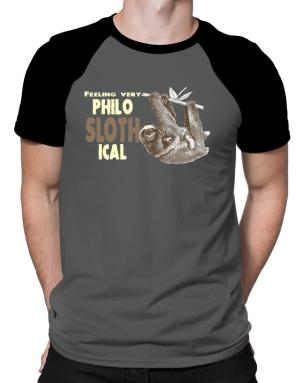 Polo Raglan de Philosophical Sloth