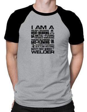 Polo Raglan de I am a welder