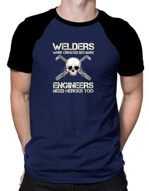 Polo Raglan de Welders were created because engineers need heroes too