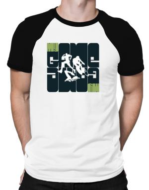 My Game - Triathlon Silhouette Raglan T-Shirt