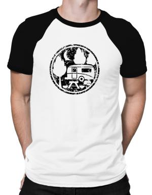 Travel trailer camping Raglan T-Shirt