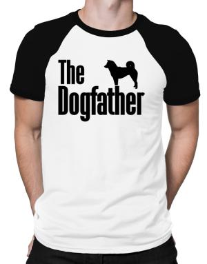 The dogfather Shiba Inu Raglan T-Shirt