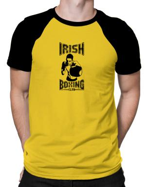 Irish boxing club Raglan T-Shirt