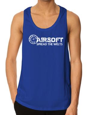 Airsoft spread the welts Tank Top