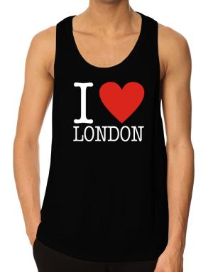 I Love London Classic Tank Top