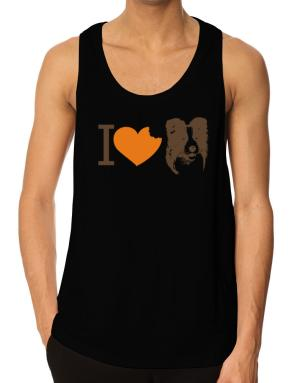 I love Border Collies Tank Top