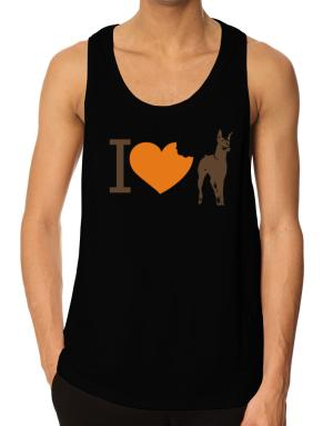 I love Doberman Pinschers Tank Top