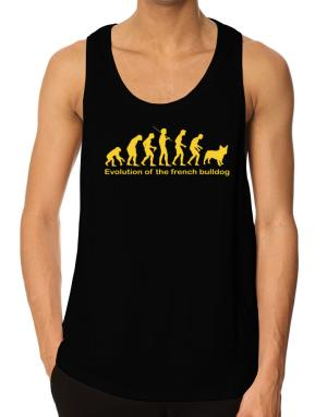 Evolution Of The French Bulldog Tank Top