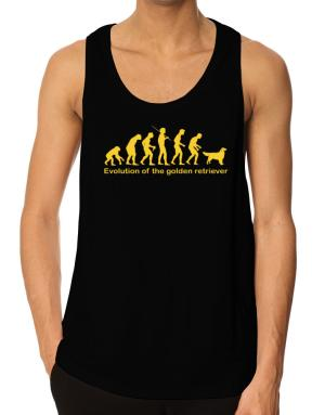Evolution Of The Golden Retriever Tank Top