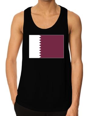 Qatar Flag Tank Top