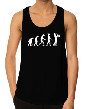 Playeras Bividi de Saxophone Player Evolution
