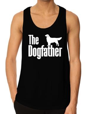 The dogfather Golden Retriever Tank Top