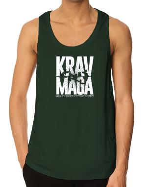 Krav maga reality based combat system Tank Top