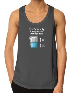 Technically the glass is always full! Tank Top