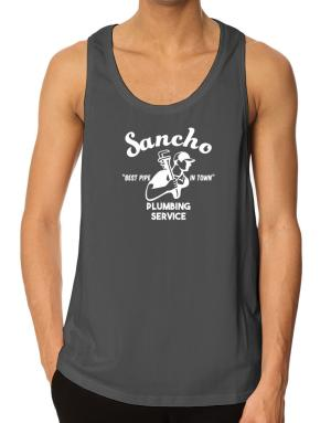 Sancho best pipe in town plumbing service Tank Top