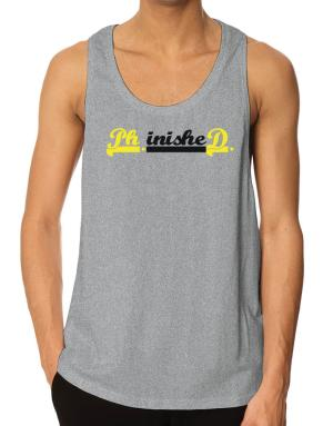 PhD finished Tank Top