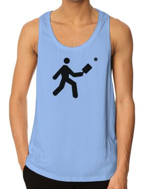 Pickleball Stickman Tank Top