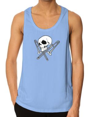 Playeras Bividi de Skull and Trombone
