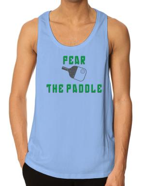 Fear the Paddle Pickleball Tank Top