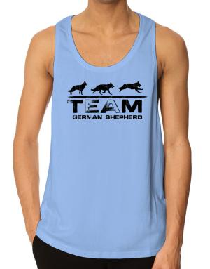 Team german shepherd Tank Top