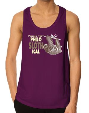 Philosophical Sloth Tank Top