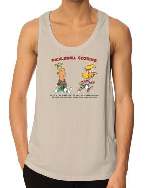 Pickleball Scoring Tank Top