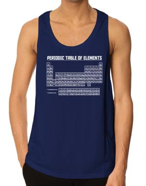 Periodic table of elements Tank Top