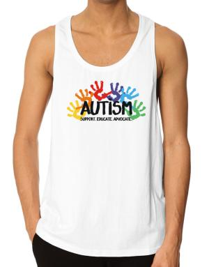 Autism support Tank Top