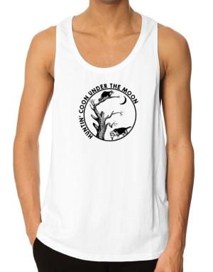Huntin coon under the moon Tank Top