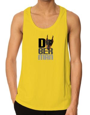 Doberman pinscher head Tank Top