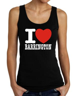 I Love Barrington Tank Top Women