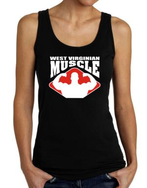 West Virginian Muscle Tank Top Women