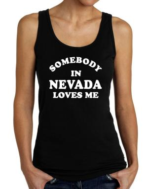 Somebody Nevada Tank Top Women