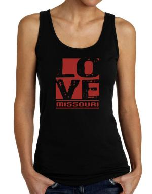 Love Missouri Tank Top Women