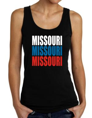 Triple Color Missouri Tank Top Women