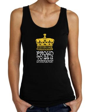 Proud To Be An Anthroposophist Tank Top Women
