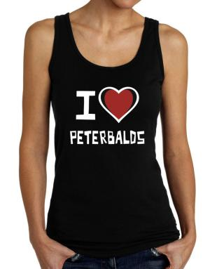 I Love Peterbalds Tank Top Women