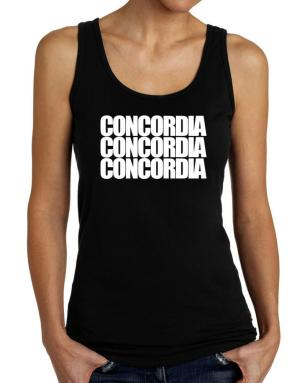 Concordia three words Tank Top Women