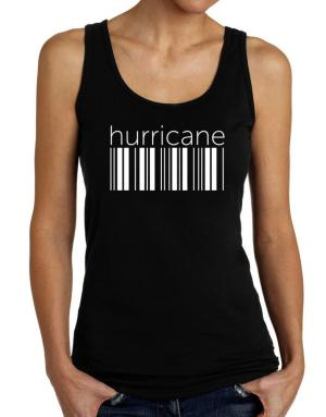 Hurricane barcode Tank Top Women